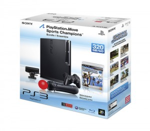 160GB PS3 Slim Announced and NEW 320GB Bundle with Move!