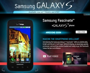 """Samsung Fascinate No Longer """"Coming Soon"""" to Big Red"""