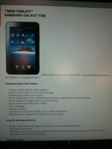 Rogers Makes the Galaxy S Tablet Official Again…