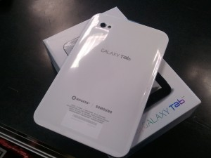 Exclusive Hands on With the White Samsung Galaxy Tab