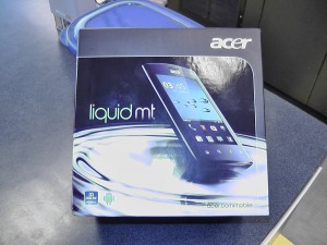 Hands on Unboxing of the new Acer Liquid MT