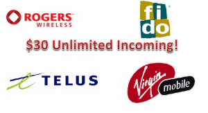 Demystifying Data – $30 Unlimited Incoming Plans in Canada