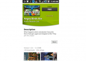 Android App of the Day: Angry Birds Rio