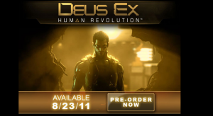 Deus Ex Human Revolution Pre-Order Detailed & Launch Date Announced