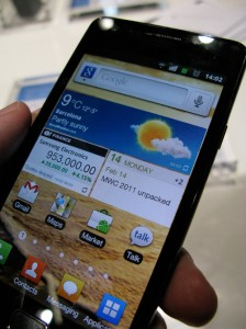SaskTel Announces Release Frame for Galaxy S II