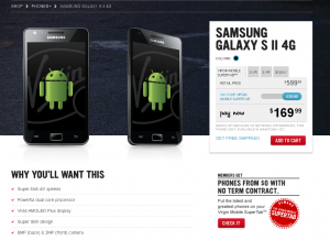 Virgin Mobile Confirms Galaxy S II Price and Early Sign Up Details