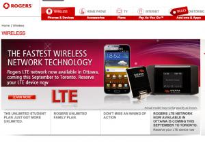 Rogers Announces LTE for Toronto