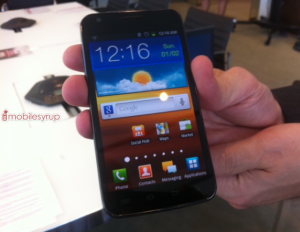 Rogers Announces Samsung Galaxy S II LTE version