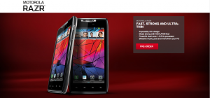 Motorola RAZR Exclusively Coming to Rogers