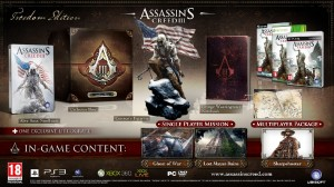 Assassin's Creed 3 European Special Editions Announced
