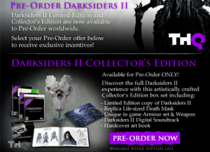 Darksiders II Collectors Edition Announced